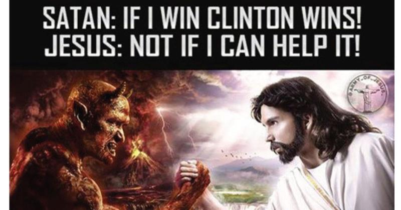 Satan clinton